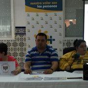 Intervención del Comité de Ciudadanía de Grupo AMÁS en la Asamblea de Adfypse. Foto: Grupo AMÁS.