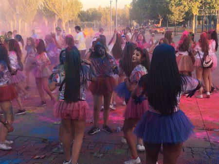 Fiesta AMÁS Holi #InclusionExperience. Foto: Grupo AMÁS.