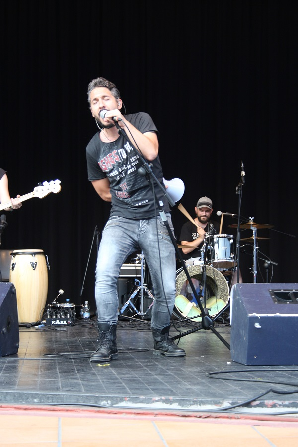 """Actuación de """"Fractal"""". Foto: Grupo AMÁS."""
