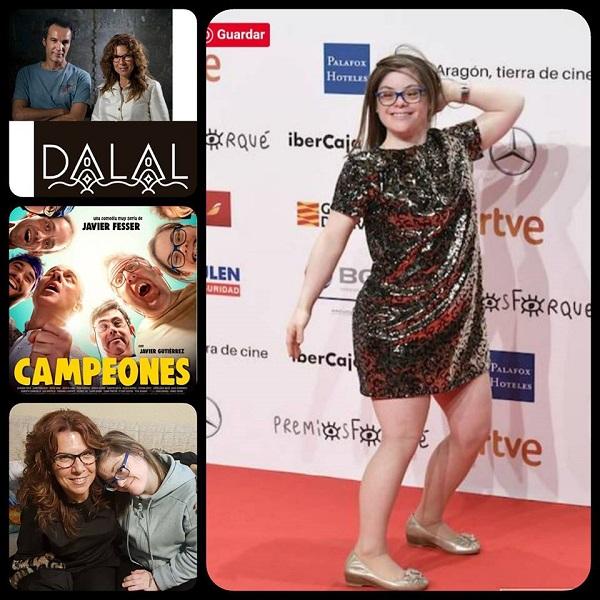 La firma de moda Dalaldar diseña el vestido de Gloria Ramos en la Gala de los Goya.