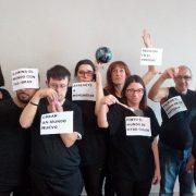 Compañía de Teatro Social ARTE.SAN@S. Foto: Grupo AMÁS.