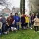 """Integrantes del proyecto """"Casa Natura"""" en el Ayuntamiento de Leganés. Foto: Grupo AMÁS"""