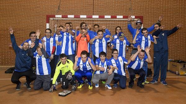 Equipo AMÁS del C.D. Leganés.