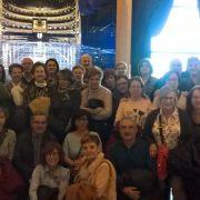 """Visita de """"Qué hay de lo tuyo"""" al Teatro Real de Madrid. Foto: Grupo AMÁS."""