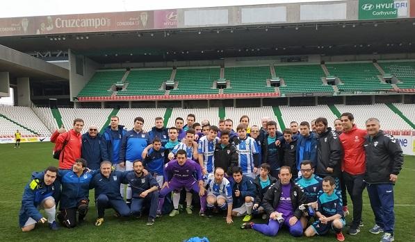 C.D. Leganés AMÁS Liga Genuine. Foto: Grupo AMÁS.