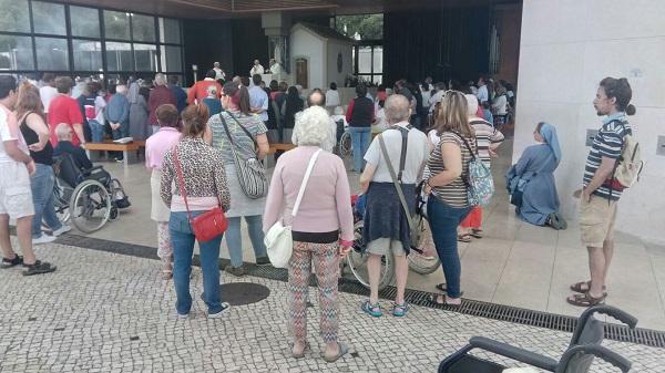 Visita a Fátima. Foto: Grupo AMÁS.