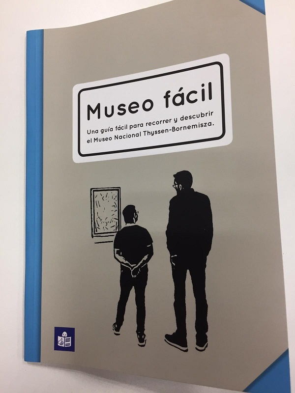 """Guía """"Museo fácil"""". Foto: Grupo AMÁS"""