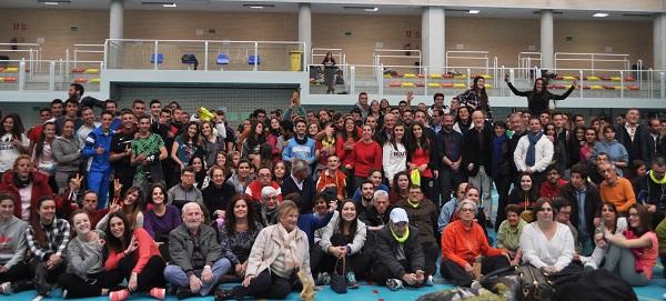 Participantes Gymkana Deportiva 2017. Foto: Grupo AMÁS.