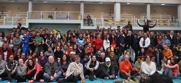 Gymkana deportiva en la Semana de la Diversidad del Ayuntamiento de Leganés. Foto: Grupo AMÁS.