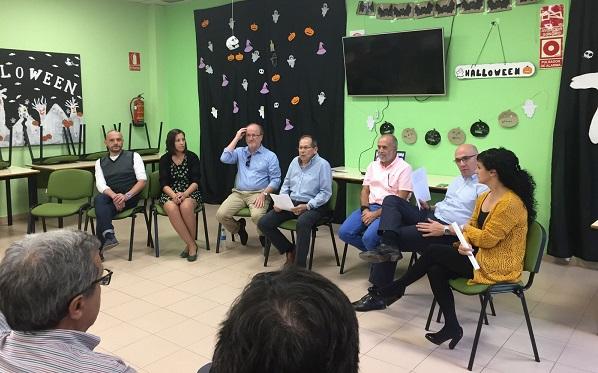 Bienvenida de Grupo AMÁS a los trabajadores de ASPANDI. Foto: Grupo AMÁS.