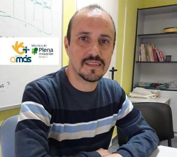 Javier Leria Molina, Experto en Gestión de Talento de Grupo AMÁS y preparador laboral de la entidad.