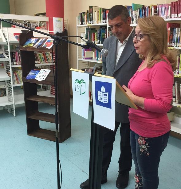 Lectura de literatura en Lectura Fácil. Foto: Grupo AMÁS.