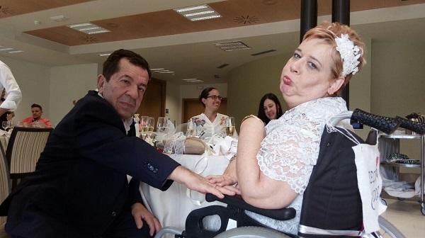 Banquete de boda de Virginia y José Manuel. Foto: Grupo AMÁS.