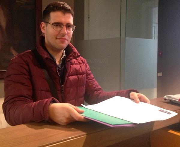 Marcos Pulpón, trabajador de Medina Cuadros. Foto: Medina Cuadros.