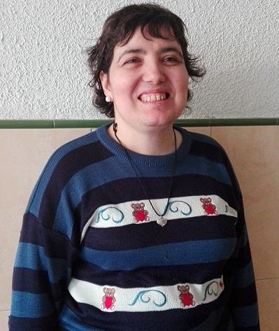 Mari Carmen, una luchadora de Grupo AMÁS. Foto Grupo AMÁS.