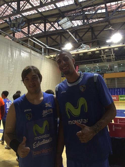 Miguel Mármol y Diamon Simpson. Foto: Grupo AMÁS.