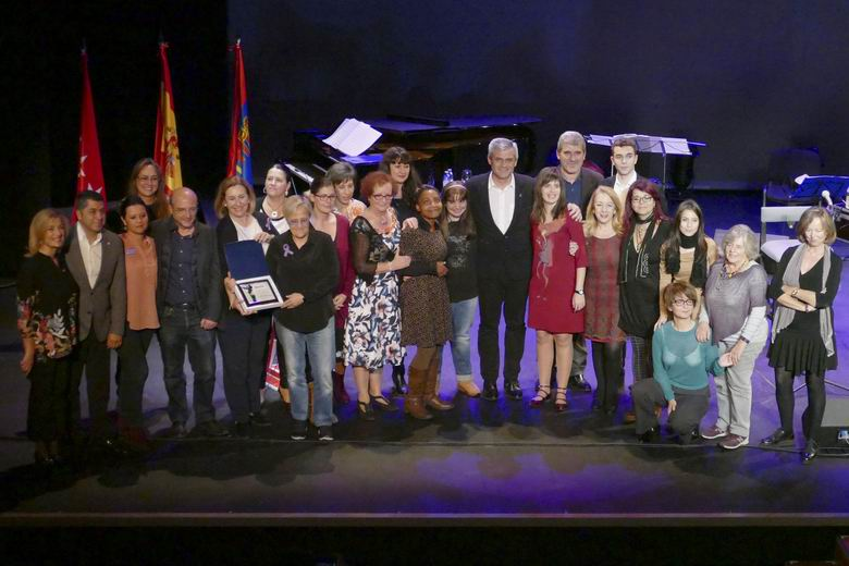 II Edición Premios Móstoles contra la Violencia de Género. Foto: Ayuntamiento de Móstoles