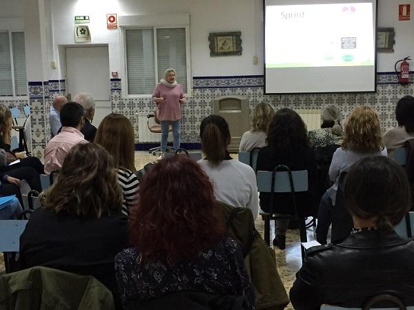 Presentación Proyectos de Transformación. Foto: Grupo AMÁS.