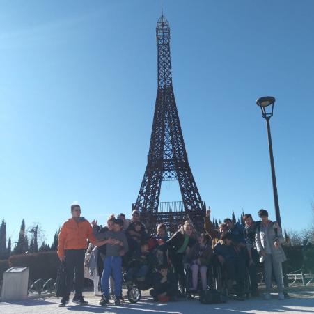 Visita a Parque Europa. Foto: Grupo AMÁS