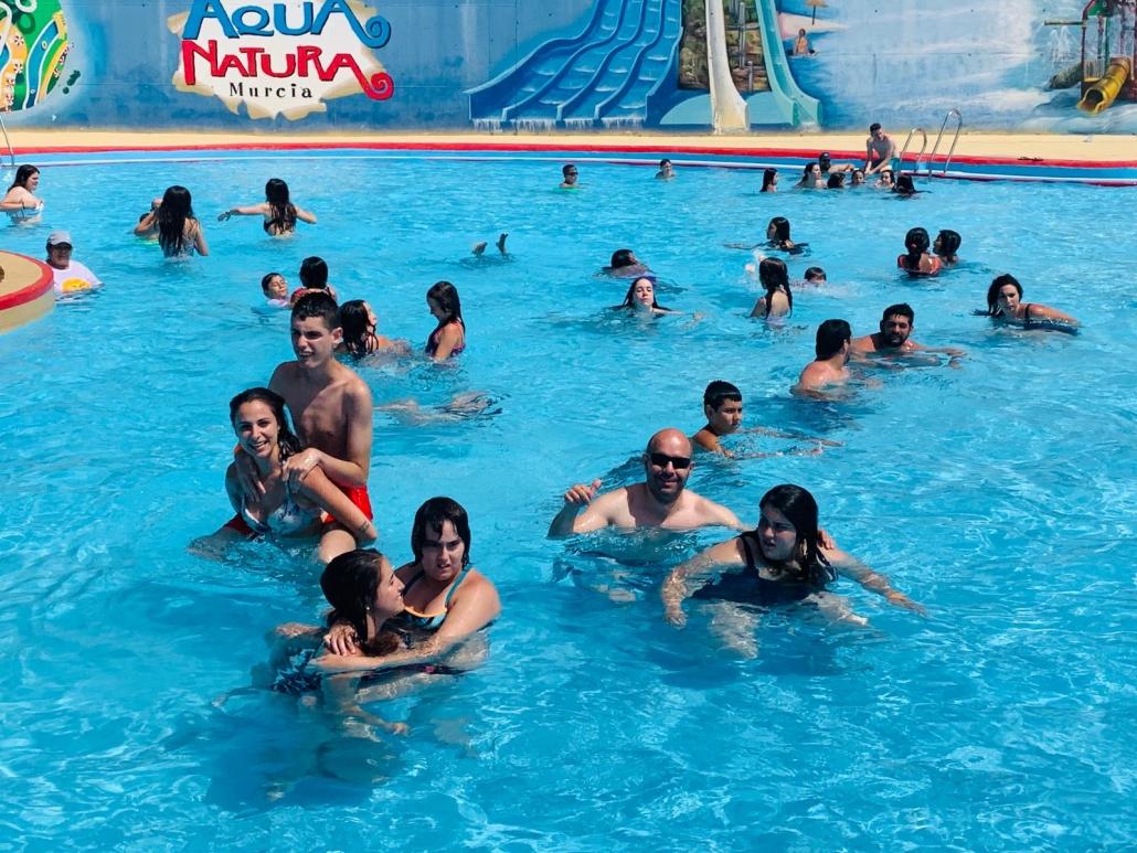 Vacaciones del Servicio de Ocio de Grupo AMÁS. Foto: Grupo AMÁS.
