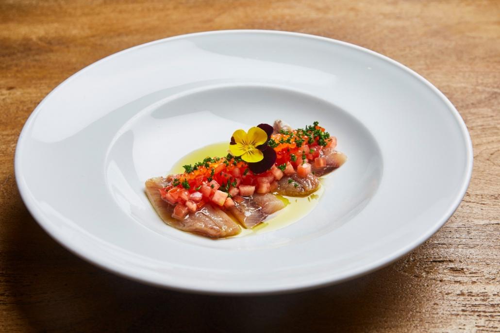 Cocina tradicional con aires renovados y productos de calidad en el Restaurante Gallinas y Focas. Foto: Grupo AMÁS