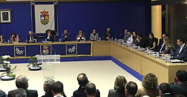 Pleno del Ayuntamiento de Fuenlabrada.