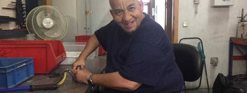 Domingo Ávila, participante en el proyecto MayorES+. Foto: Grupo AMÁS