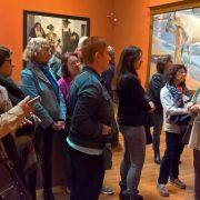 Visita al Museo Sorolla de ¿Qué hay de lo tuyo?. Foto: Grupo AMÁS.