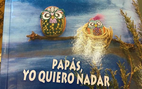 """""""Papás, yo quiero nadar"""", cuento solidario en beneficio de Atención Temprana de Grupo AMÁS, Foto: Grupo AMÁS."""