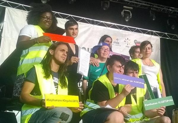 Concierto de World Pride Madrid en Matadero. Foto: Grupo AMÁS.