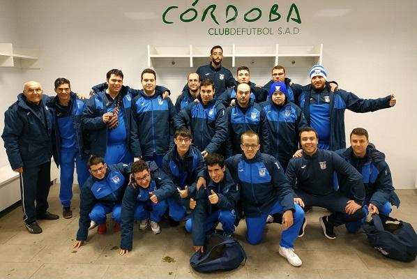 Equipo C.D. Leganés en la Liga Genuine en Córdoba. Foto: Grupo AMÁS