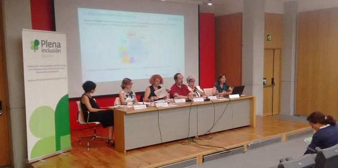 I Jornada de Accesibilidad Cognitiva de Plena Inclusión Madrid. Foto: Grupo AMÁS.