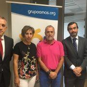 """La Fundación Bancaria """"la Caixa"""" destina en su convocatoria 2017 más de 50.000 euros a tres proyectos sociales de Grupo AMÁS. Foto: Grupo AMÁS."""