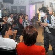 Espectáculo celebrado en la Concept Store Másymenos en el mes de septiembre. Foto: Grupo AMÁS.