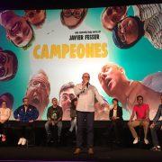 """Coloquio tras el pase privado de la película """"Campeones"""" en Cines Callao. Foto: Grupo AMÁS."""