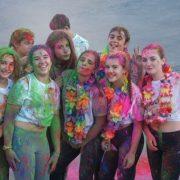 El 6 de octubre fiesta AMÁS Holi en Fuenlabrada. Foto: Grupo AMÁS.
