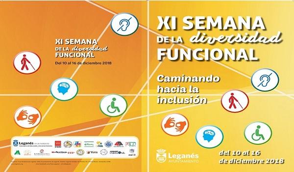 """""""Caminando hacia la inclusión"""": Grupo AMÁS colabora en la XI Semana de la Diversidad Funcional del Ayuntamiento de Leganés"""
