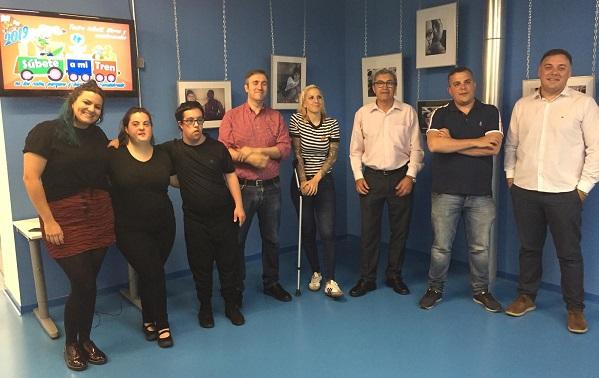 """Inauguración de la exposición fotográfica """"ALMA"""" en Fuenlabrada. Foto: Grupo AMÁS."""