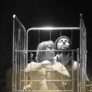 """Escena de """"Gandula"""", de la compañía Artesan@s de AMÁS Escena. Foto: Grupo AMÁS."""