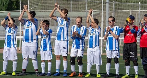 I Torneo Fútbol 8 celebrado en Móstoles. Foto: Grupo AMÁS.
