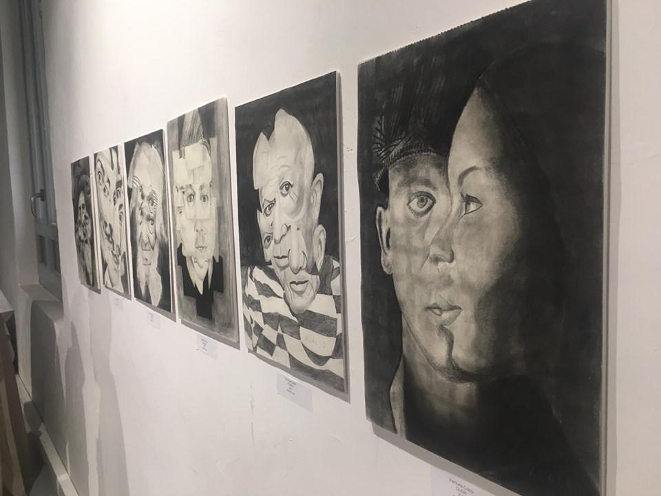 """Exposición """"Yo también"""". Foto: Grupo AMÁS"""