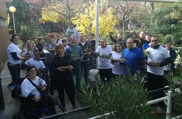 Grupo AMÁS participa en la Semana del Medio Ambiente del Ayuntamiento de Leganés. Foto: Grupo AMÁS.