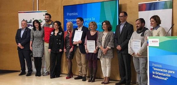 "Entrega de premios ""Innovación para la Orientación Profesional"" de Bosch España."
