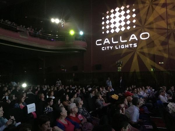 """Más de 700 personas asisten al pase privado de """"Campeones"""" en Cines Callao. Foto: Grupo AMÁS."""