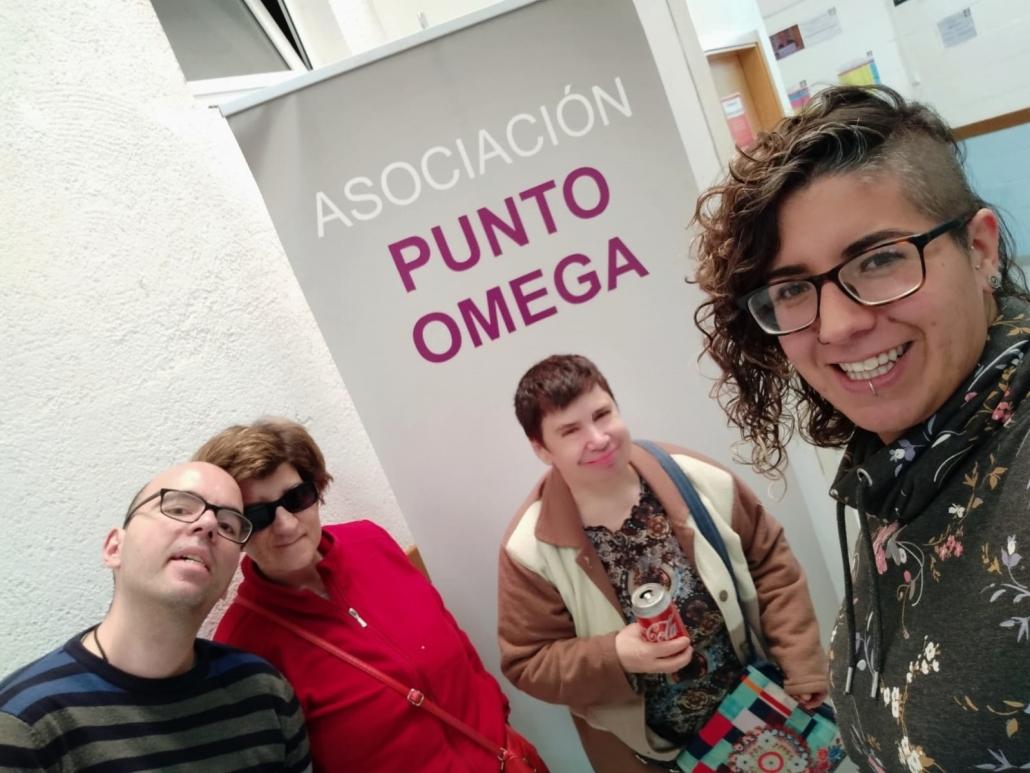 Participantes en el proyecto OCUPA-OPCIONAL, de Grupo AMÁS. Foto: Grupo AMÁS