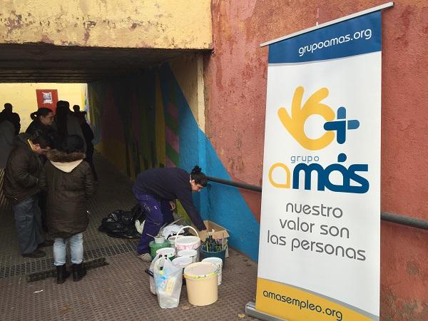 """Iniciativa """"Transforma tu ciudad"""". Foto: Grupo AMÁS."""