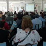"""Más de cien personas asistieron a la jornada """"Welcome Familias"""". Foto: Grupo AMÁS."""