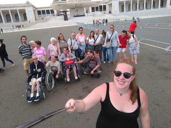 """Vacaciones con """"Todo Inclusivo"""" en Portugal. Foto: Grupo AMÁS."""