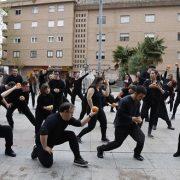 Flashmob de AMÁS Escena en la Semana de la Salud de Móstoles 2016. Foto: Grupo AMÁS.