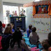 Espectáculo infantil en Másymenos. Foto: Grupo AMÁS.